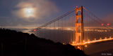Full Moon at Golden Gate Bridge print