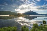 Peanut Lake Sunrise print