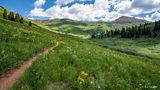 West Maroon Bells Pass Trail print