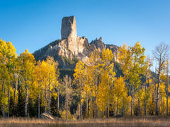 Chimney Rock, Uncompahgre National Forest, Courthouse Mountain, San Juan Mountains, True Grit
