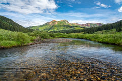 east river, riverbed, gothic valley, Gunnison National Forest, Colorado