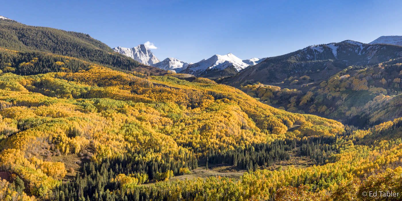 Capitol Peak,Capitol Creek,autumn,fall,panorama,vista, photo