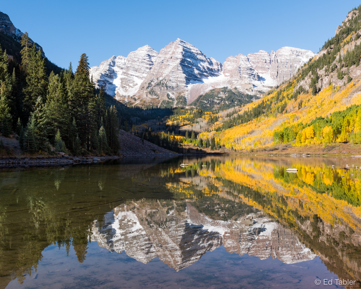 Maroon Bells,Colorado,Maroon Lake, White River National Forest, photo