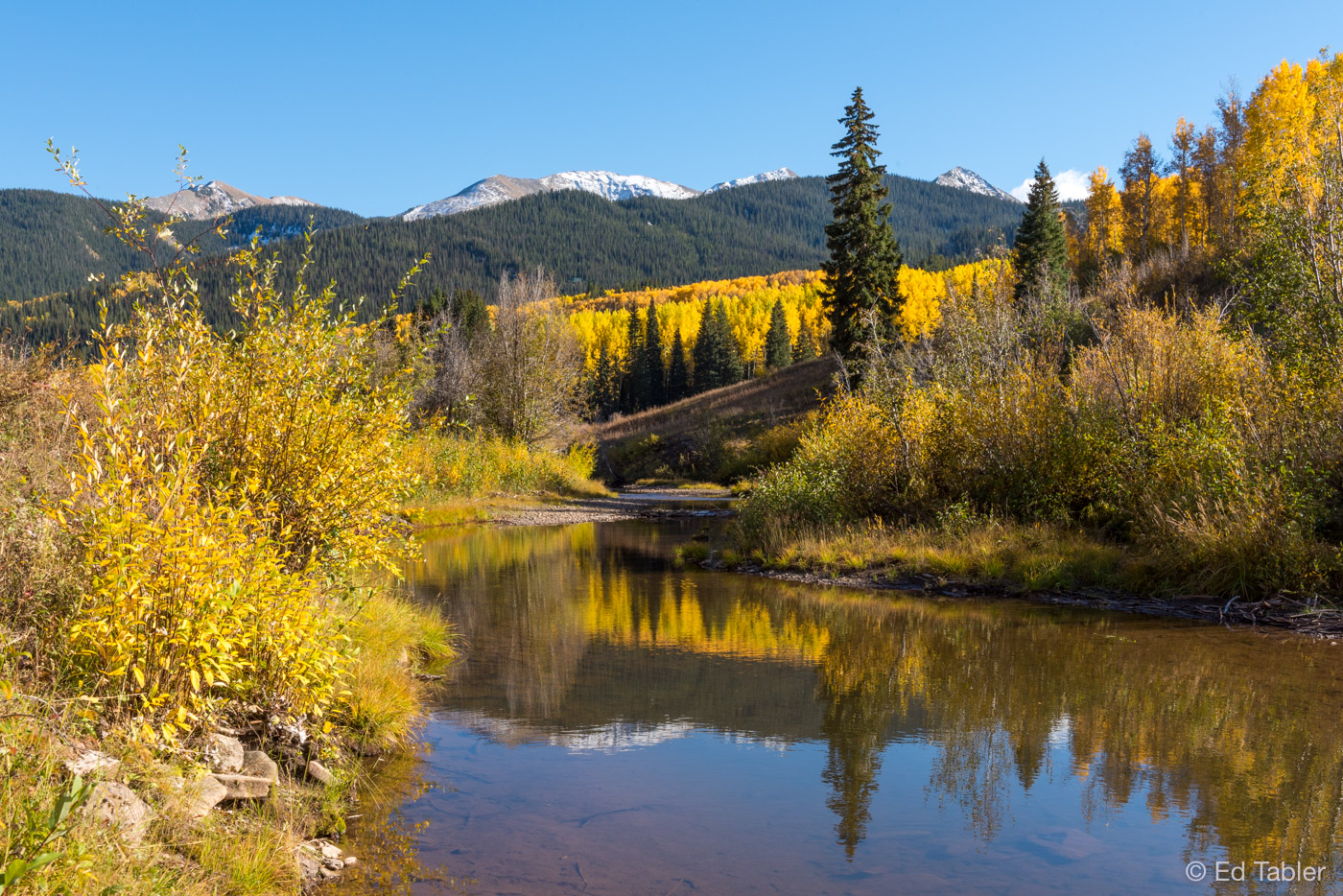 Ruby Anthracite Creek,autumn,Gunnison National Forest, photo